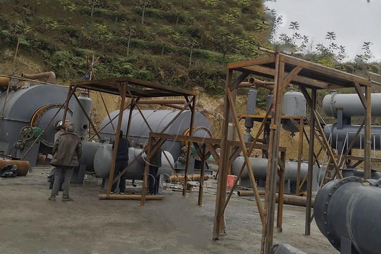 轮胎炼油设备